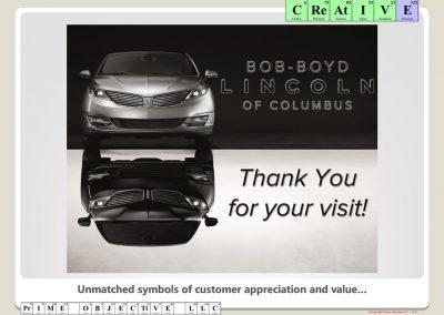 Unmatched symbols of customer service